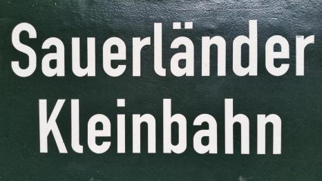 Sauerländer Kleinbahn © 2017 Foto: Stefanie Schildchen