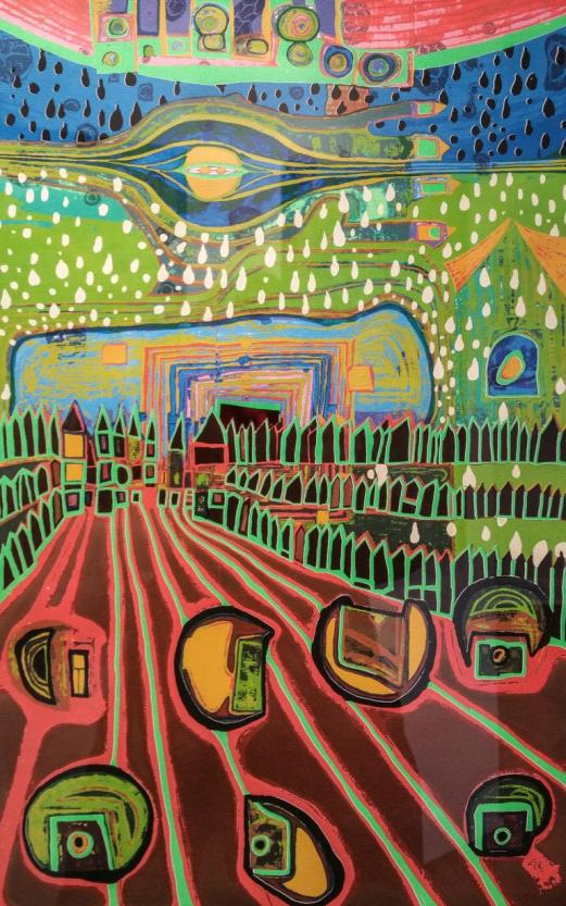Ausstellung Hundertwasser, Villa Wippermann, Halver