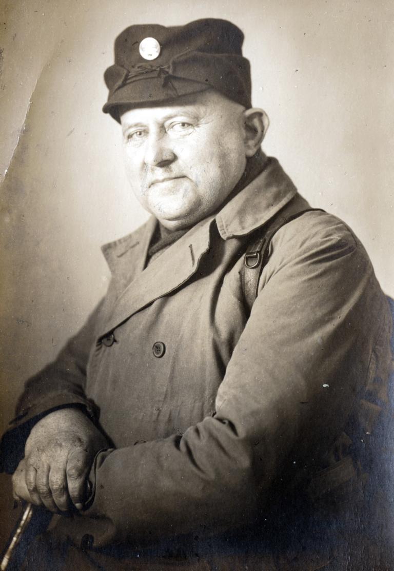 Heimatdichter Franz Predeek