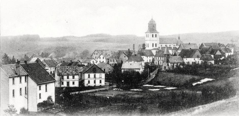 Meinerzhagen um 1910 © Foto: Stadtarchiv Meinerzhagen