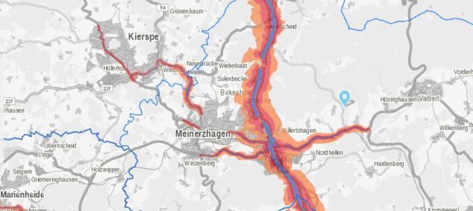 Neue Lärmkarten für NRW jetzt online