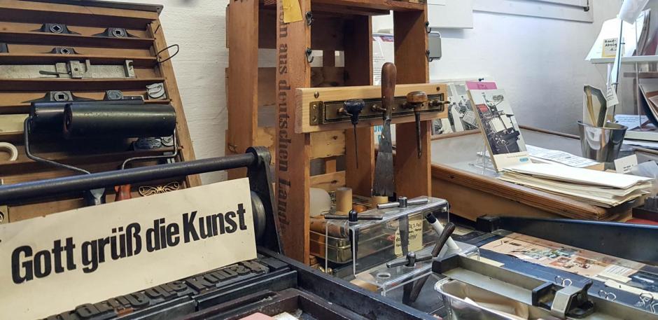 Druckmuseum Bergneustadt© 2018 Foto: Stefanie Schildchen