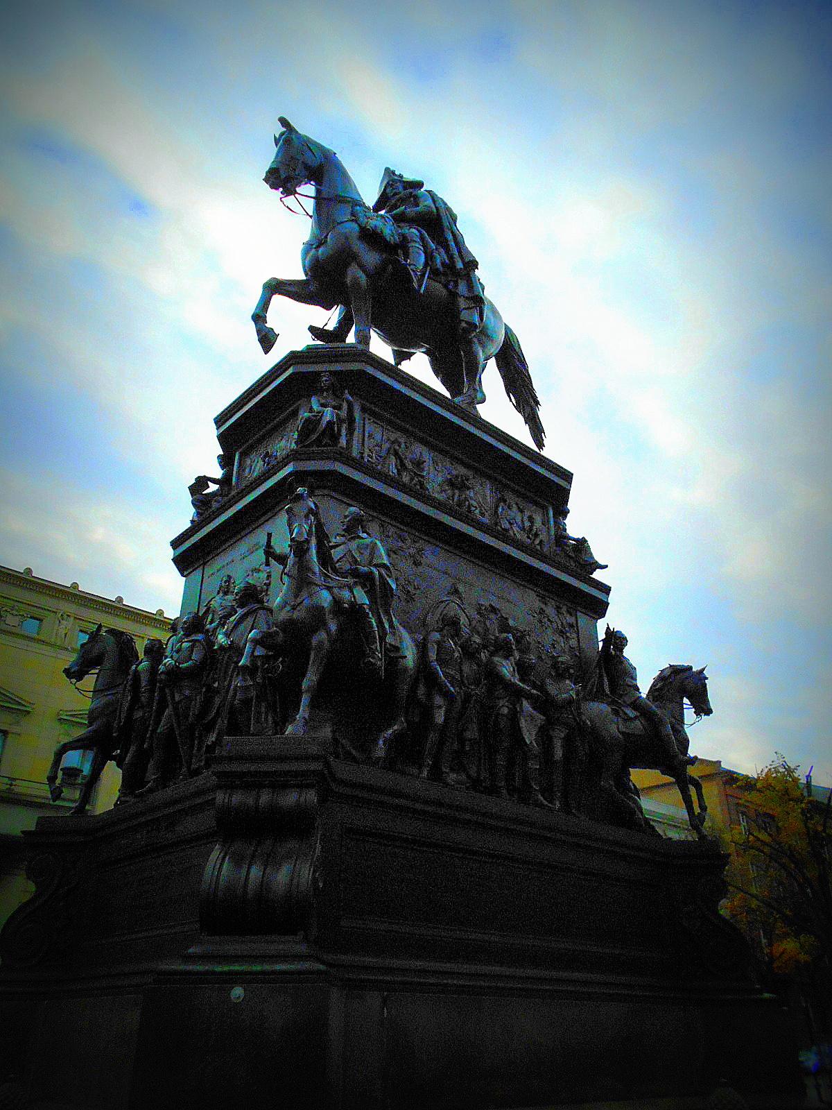 Denkmal Reiter
