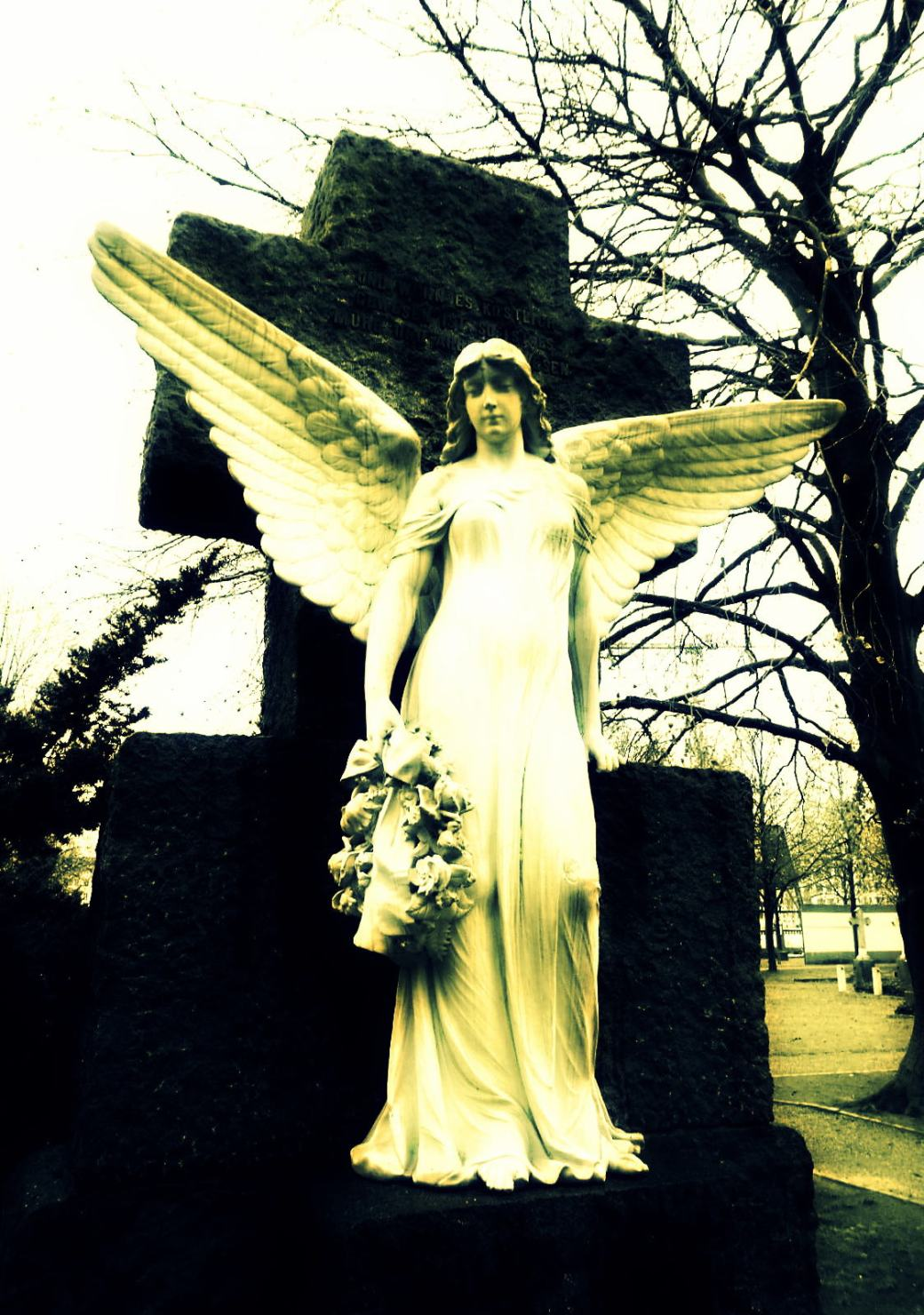 Engel in Groß