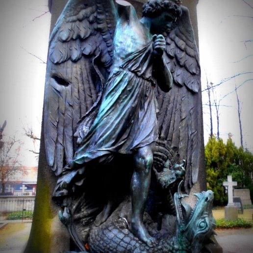 Engel und Dämon