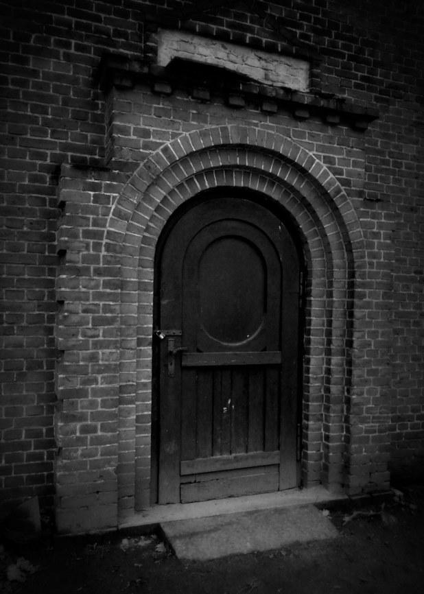 Alte Tür sw