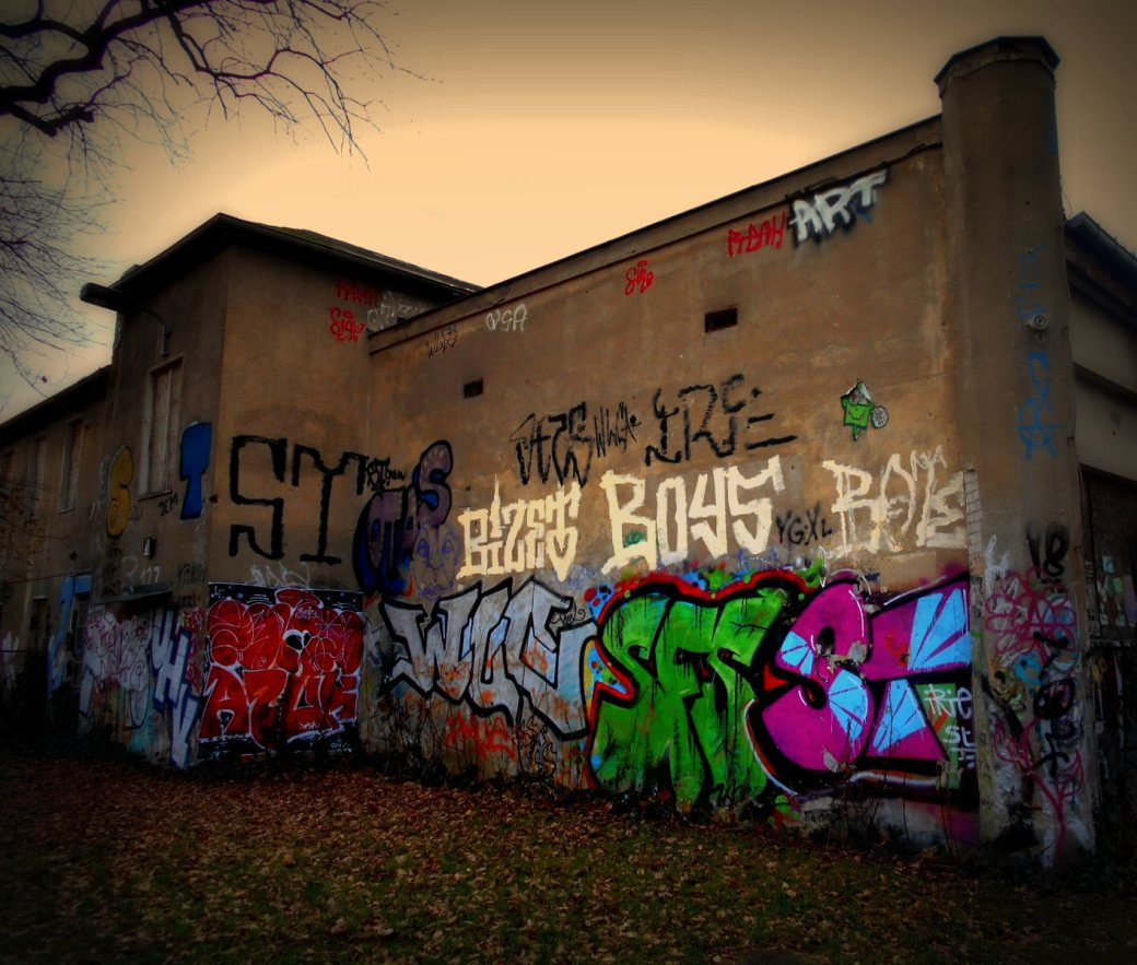 Graffity Lost Place
