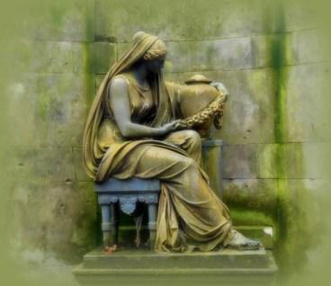 Skulptur Trauernde