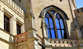 Balkone am Schloß