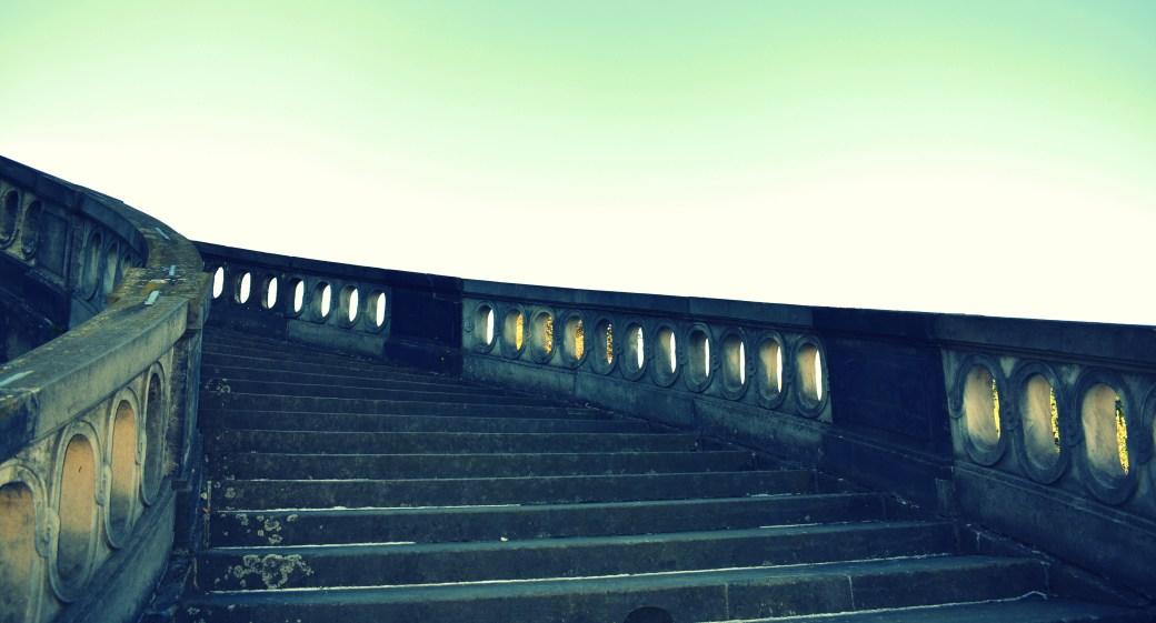 Treppenstufen cross