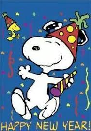 HAPPY NEW YEAR !!! … | Snoopy liebe, Snoopy und woodstock, Charlie brown  und snoopy