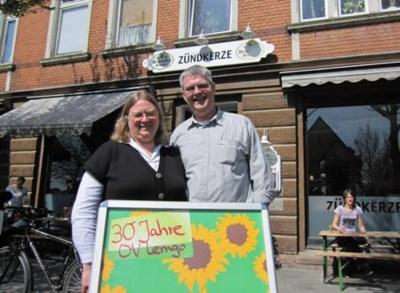 Ingrid und Dieter Koch Jubilare Grüne Lemgo