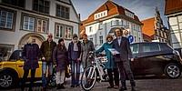 Urkundenübergabe an die Fraktion als Mitglied im Klimapakt Lippe