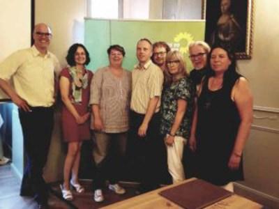 Ortsvorstand der Lemgoer Grünen 2018