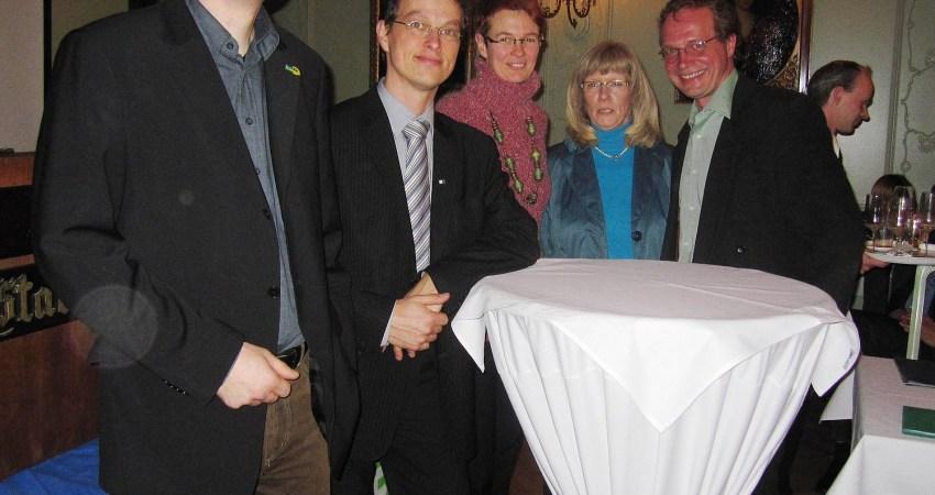Gäste beim Neujahrsempfang der Grünen Lemgo