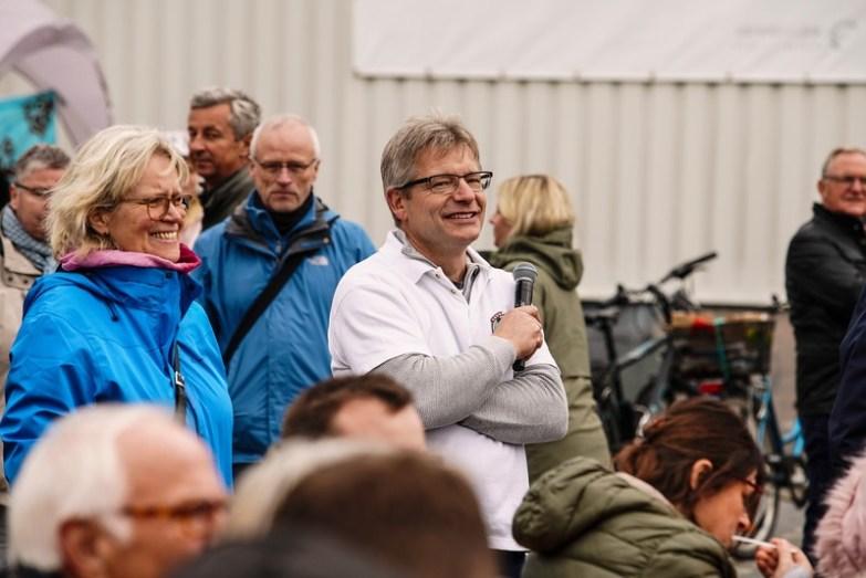 Katharina Kleine-Vennekate und Alfred Meffert beim BrotFest