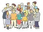 Alle Menschen sollen in einer Gemeinschaft leben. Alle Menschen sollen sich gegenseitig unterstützen.