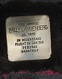 Stolperstein Willy Langenberg