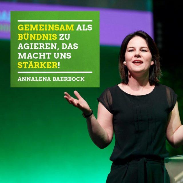 Annalena Baerbock: Gemeinsam als Bündnis zu agieren, das macht uns stärker!