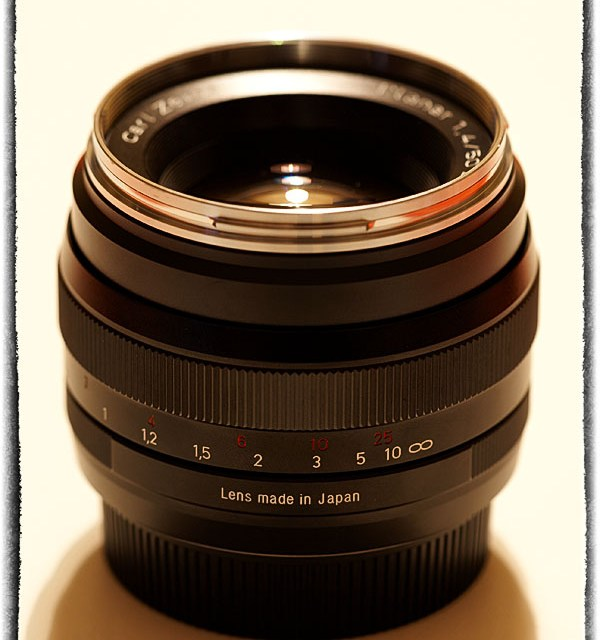 Zeiss Planar T* 1.4/50mm ZE