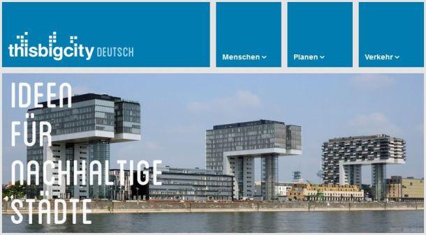 """Für jeden verfügbar: Die Inhalte von """"This Big City"""" stehen unter einer Creative Commons Lizenz (screenshot: thisbigcity.net)"""