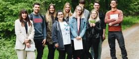 Gruppenfoto der diesjährigen Lehrredaktion
