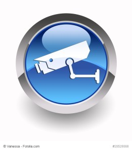 ''CCTV'' glossy icon