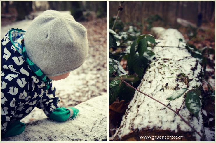 Schnee Spaziergang