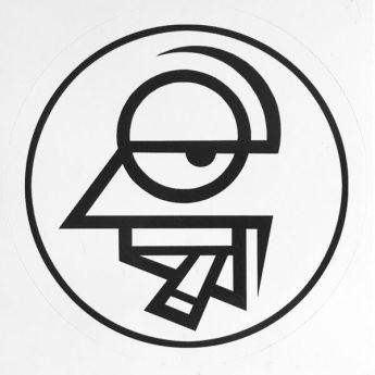 Company Slow Logo Sticker