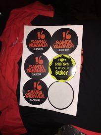 Grüß Dich mei Guder vs. Samba Sticker