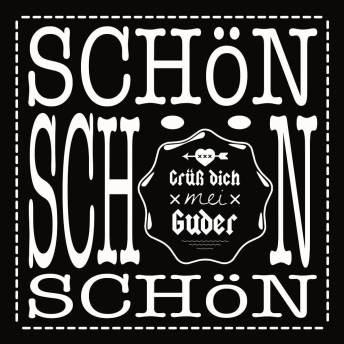 Schön Schön Schön Sticker