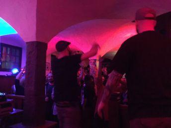 Stageview 1. Company Slow. Frankenburger. Live Hip Hop. Bratwurst Rap. Coburg.