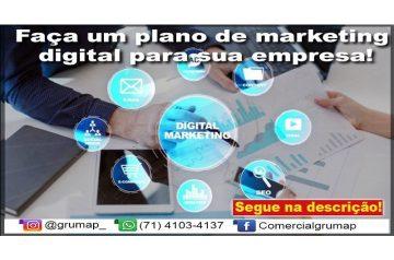 Faça um plano de marketing digital para sua empresa