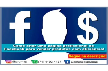 Como criar uma página profissional do Facebook para vender produtos com eficiência.
