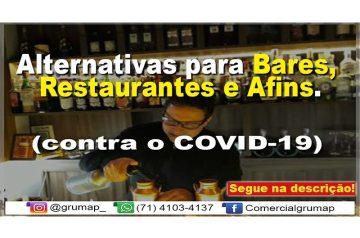 Alternativas para Bares, Restaurantes e Afins (contra o COVID-19)