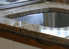 Click here to see our new countertop!