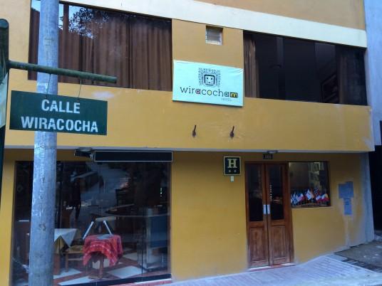 Wiracocha hotel - Aguas Calientes