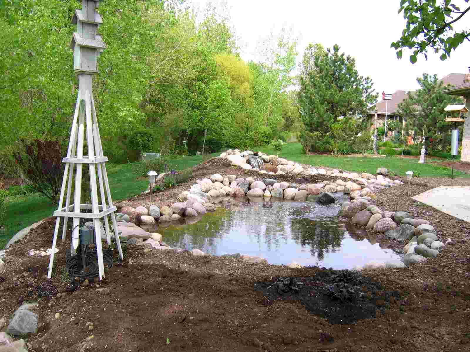 New Pond Looking NorthWest