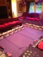 spa party for loads of girls in london