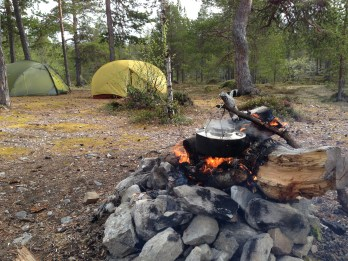 Camp site ved Grislehåen.