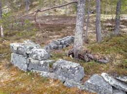 Gamle spor etter bosettning