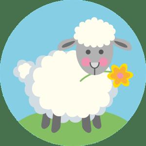 easter lamb, lamb, easter