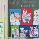 Tierisch Bunter Kunstunterricht In Der Klasse 3a Gerhart Hauptmann Grundschule Grunheide Mark
