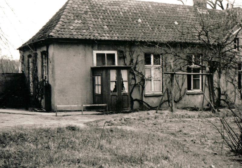 Das Schulgebäude von 1763