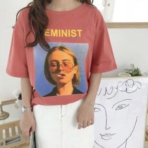 T-shirt feminist style tumblr