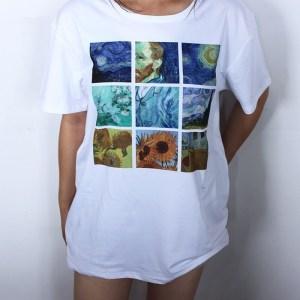 T-shirt style tumblr Van gogh