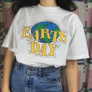 T-shirt écologique Earth Day