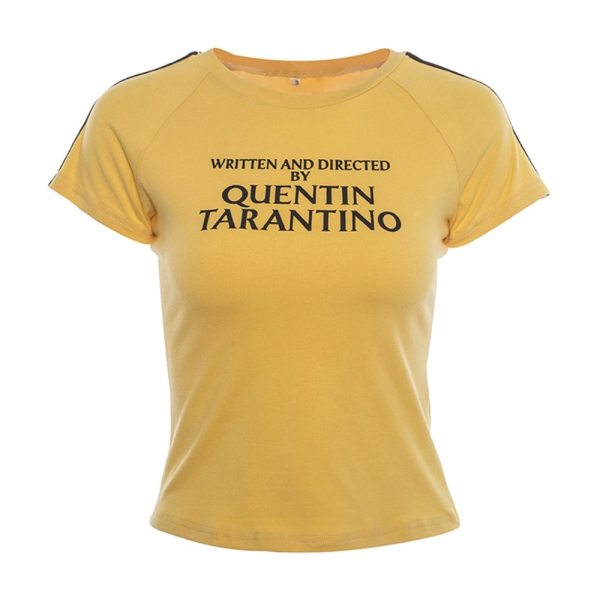 t-shirt written and directed by quentin tarantino avant