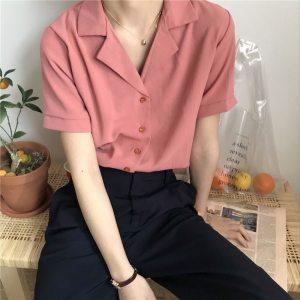 Chemise vintage femme