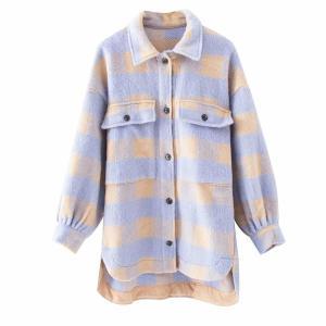 Manteau vintage à carreaux - Bi couleurs